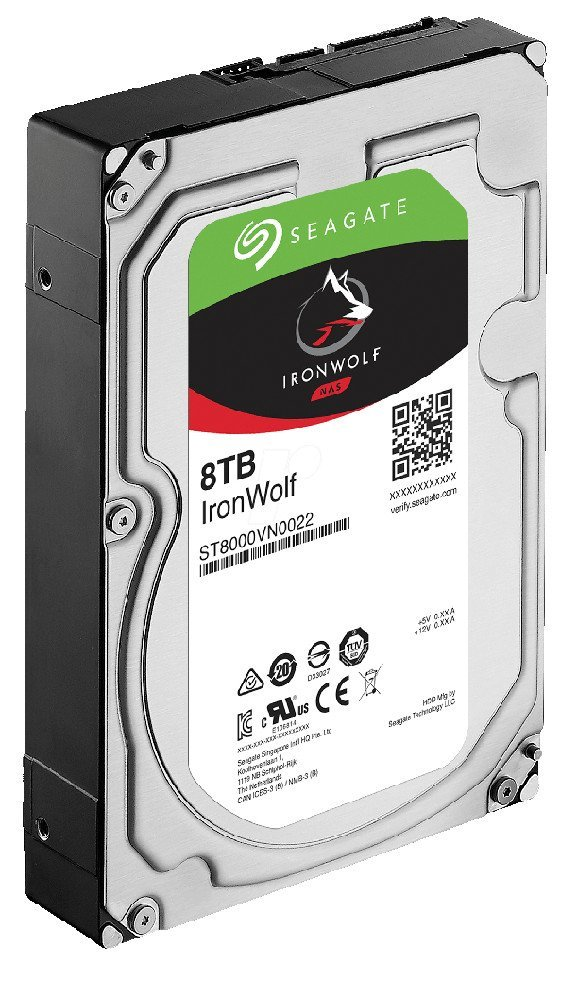 Seagate IronWolf ST8000VN0022, 8TB